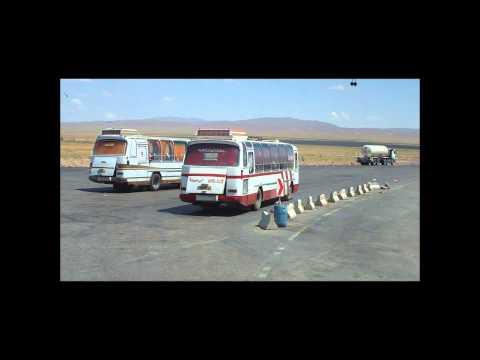 Iran - Von Tehran nach Mashhad, Ausschnitte einer langen Busfahrt