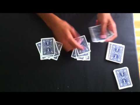 tour de magie carte compter