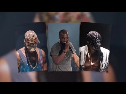 Kanye West Can't Mask Controversial Concert Merchandise | Splash News TV | Splash News TV