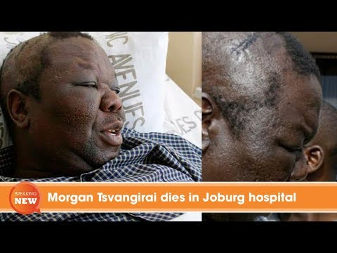 Morgan Tsvangirai dies in Joburg hospital