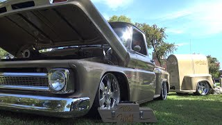 1965 Chevy C10 The Buff custom Family Heirloon Chevrolet Truck & Mail Hauler Trailer LS7 Street Rod