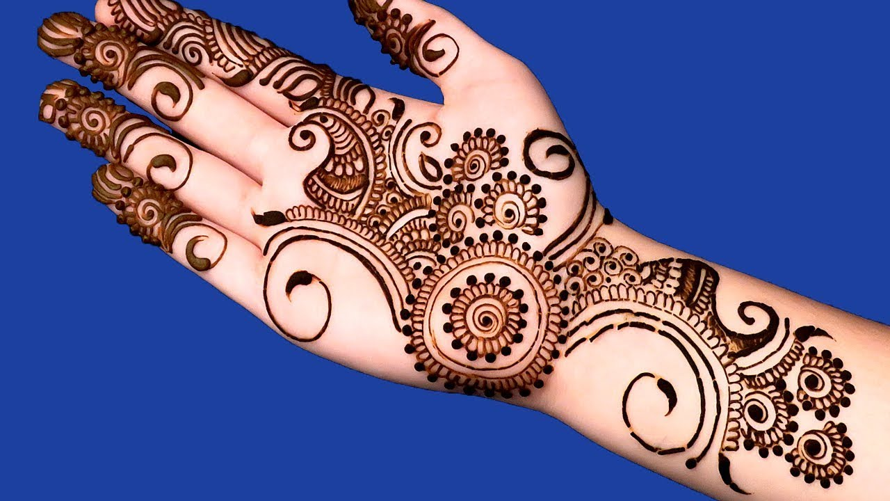 Mehndi Design Easy