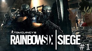 Me and Ghost DESTROY people (not really lol)/RAINBOW SIX® SIEGE #1