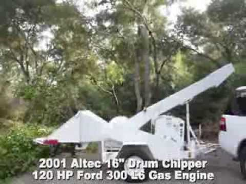 Repeat Altec WC612 Whisper Chipper Tree Wood Brush Test and Review