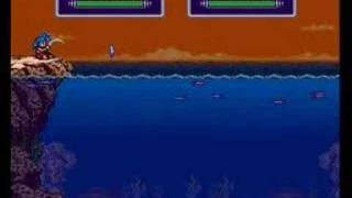 Breath of Fire II - Low Level Game: Intro / Fishing Minigame