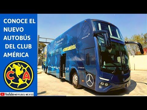 Así Es El Nuevo Autobús Mercedes-Benz Del Club América