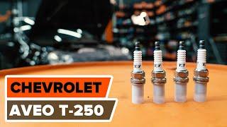 Ako vymeniť zapaľovacia sviečka na CHEVROLET AVEO T-250 [Návod]