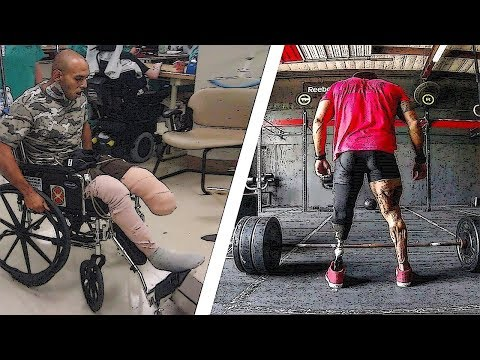Man With Incredible Power of Will ▶ Jose Luis Sanchez ⭐ A Former Marine with One Leg