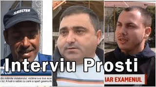 Interviuri Cu Prosti | Oameni Prosti | Cele Mai Tari Interviuri