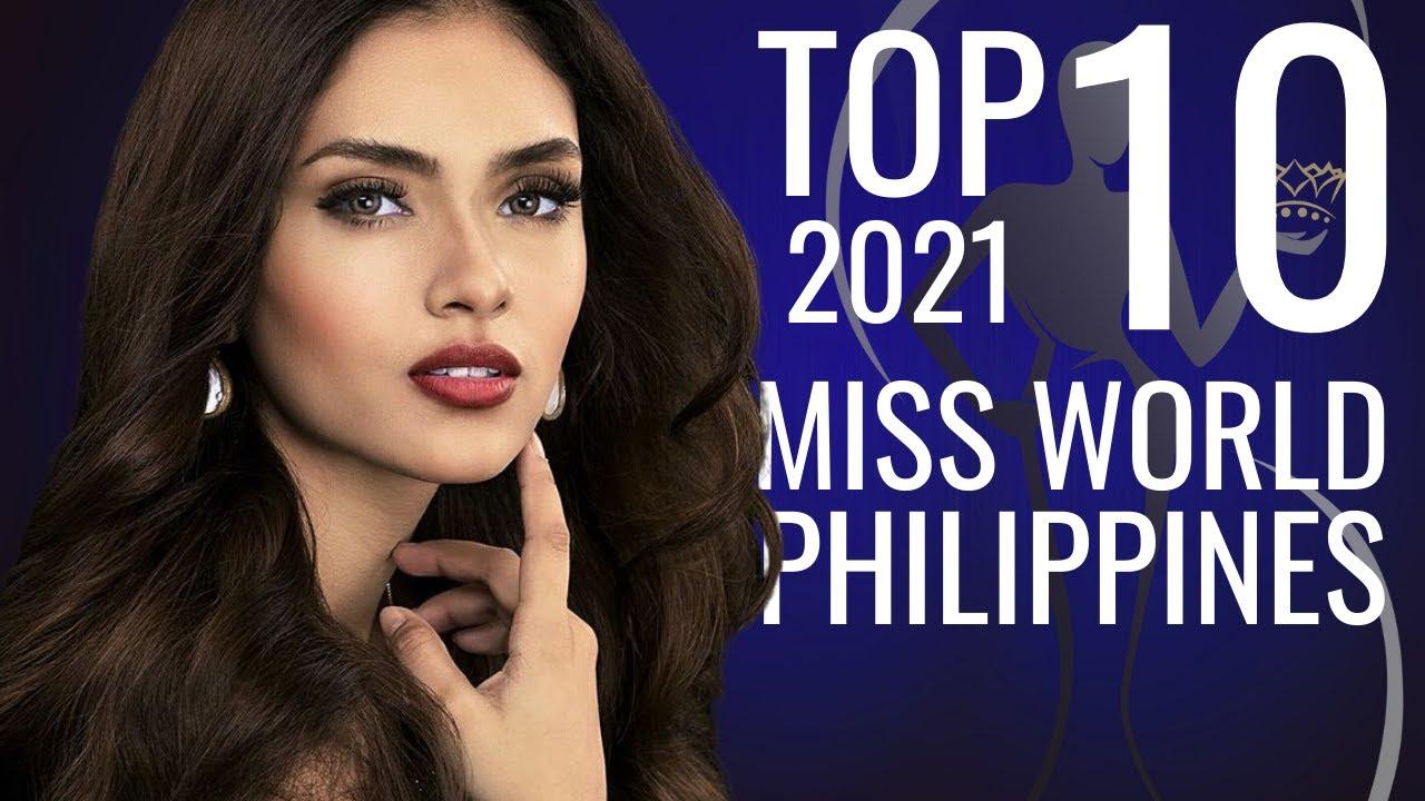 Miss World Philippines 2021 TOP 10 Hot Picks!