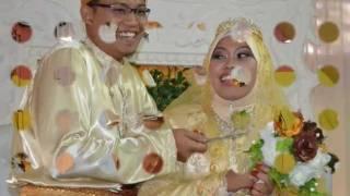(NB) Perkahwinan Hazril dan Lisa - Direnjis-renjis Dipilis