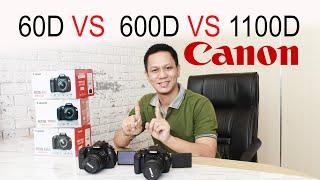 Perbandingan Kamera Canon DSLR EOS 60D 1100D 600D 2021 - Bagian 2