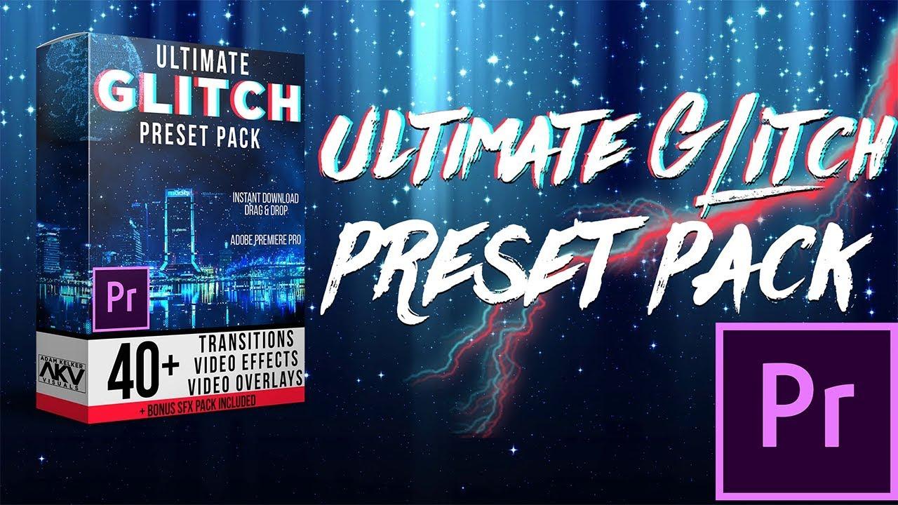 Transition Preset Pack Bundle cho Premiere Pro