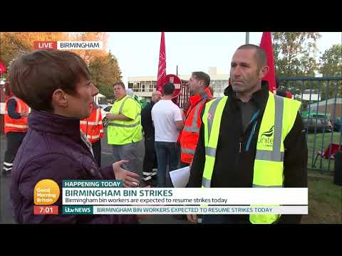Birmingham Bin Strikes | Good Morning Britain