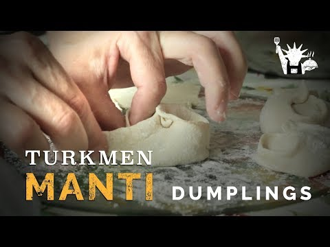 Native Dish: Turkmen Manti - NYC Immigrant Cuisine: Dovlet Bayryyev, Student at Baruch College