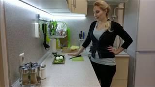 Полезный перекус для похудения: салат с авокадо за 5 минут)