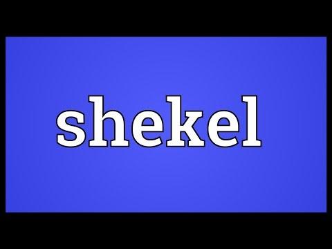 Shekel Meaning