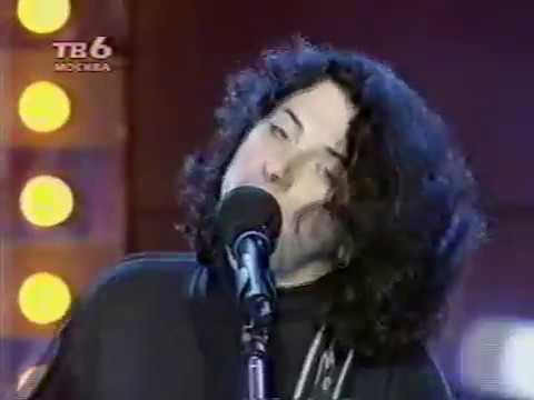 """Агата Кристи в программе """"Обоз"""" на канале ТВ-6, 1999"""