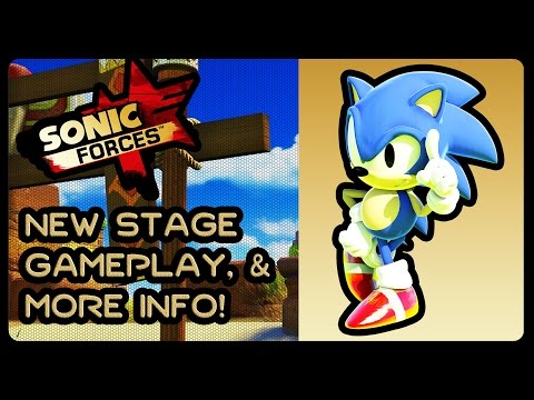 SONIC FORCES – NEW Stage Gameplay, Screenshots, & More Info! #ClassicSonic #GreenHill