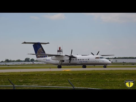 Plane Spotting @ Buffalo Niagara International Airport (KBUF) 6/4/15