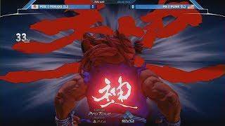 EVO 2017最終日 GF ときど(L) VS Punk(W) ときど 検索動画 4