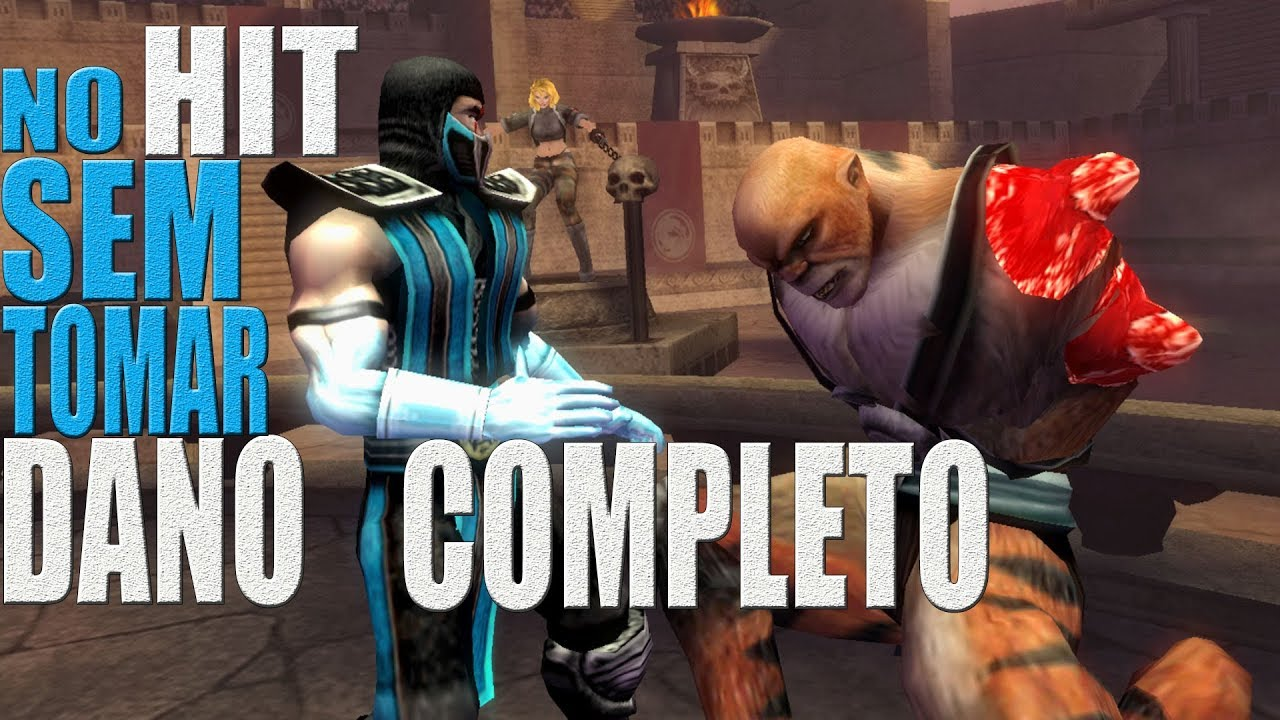 [TAS] Mortal Kombat Shaolin Monks HARD (NO HIT) SEM TOMAR DANO   SUB-ZERO  (PS2)