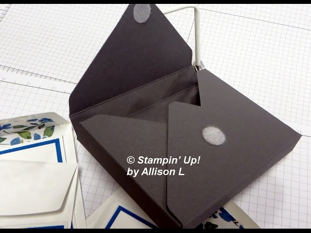 Envelope Punch Board Note Card Box