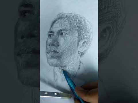 ลายเส้นคนเหมือน Portrait Drawing @Tawan-art สอนวาดภาพ