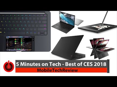 5 Minutes on Tech: the Best of CES 2018