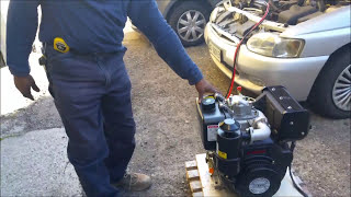 STARTING LIFAN DIESEL ENGINE( C186FD)