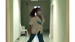 Медичка зажигает!!!  Короткие видео приколы 2018!