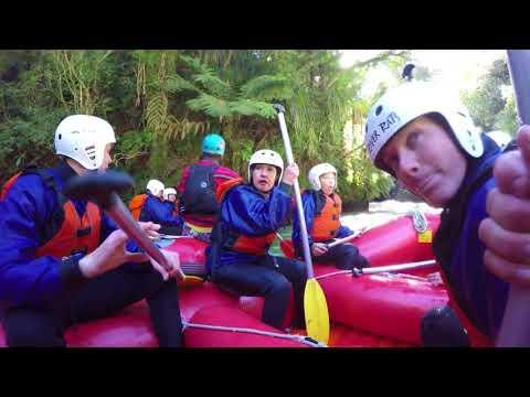 River Rafting the Kaituna River New Zealand