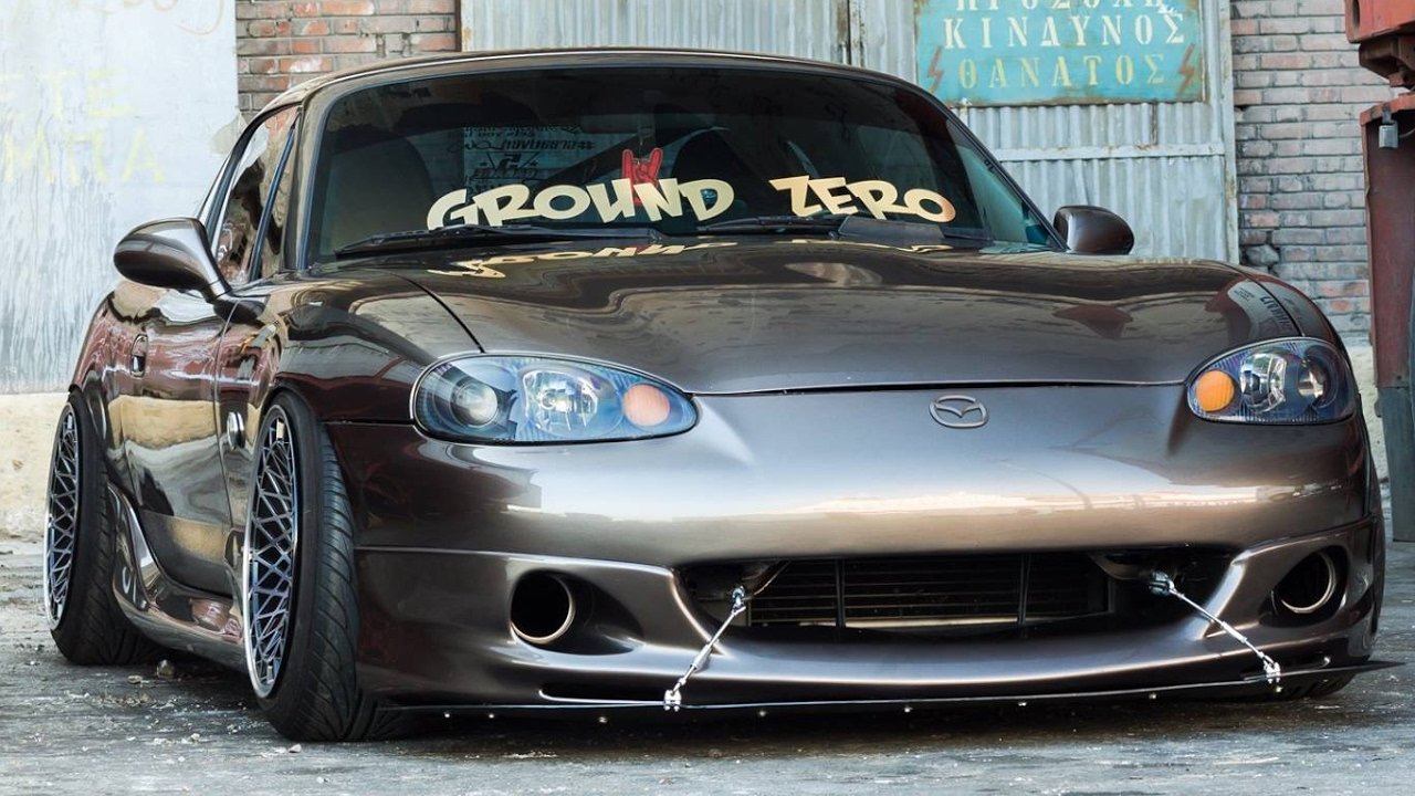 Mazda Miata engine swap, rebuild