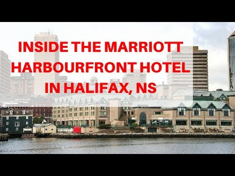 Marriott Harbourfront In Halifax, Nova Scotia HOTEL ROOM TOUR