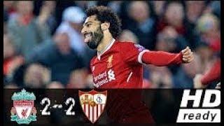 Liverpool vs Sevilla 2-2  All Goals & Highlights   UEFA Champions League 13 09 2017 HD