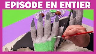 Art Attack - Les mains porte bouquins - Disney Junior - VF