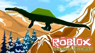 Roblox - Dinosaur Simulator 09: Spinosaurus (GAMEPLAY PT/BR)