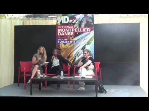 Festival Montpellier Danse 2015 - Conférence de presse Trajal Harrell