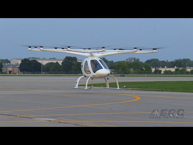 Airborne Oshkosh Day 3: Volocopter Flies!, Hartzell Family, Certified GAMI G100UL!