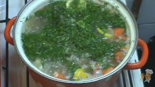 Диетический рыбный суп . Готовимся к лету.