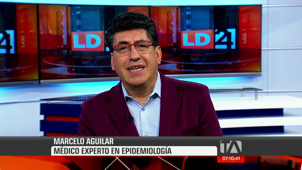 Marcelo Aguilar, médico experto epidemiológico, comenta sobre el avance del coronavirus en Ecuador