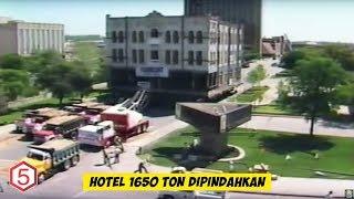 Kalian tidak akan percaya , Gedung Hotel Seberat 1650 Ton ini dipindahkan Selama 6 Hari