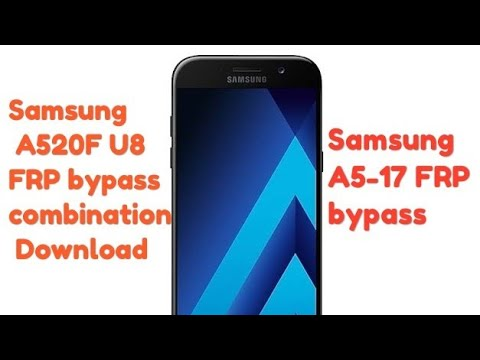 Samsung A520F U8 FRP Remove Combination Download By GSM Flash File