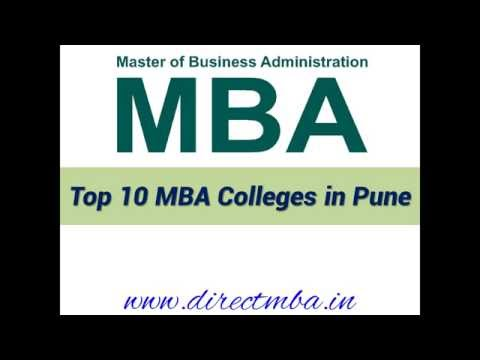 Top 10 MBA Colleges in Pune - For MBA and PGDM Admission