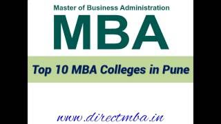 Top 10 MBA - Top 10 MBA Colleges in Pune - For MBA and PGDM Admission