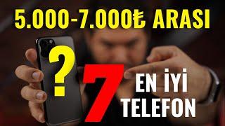 5000 7000 TL arası en iyi telefonlar Aralık 2020