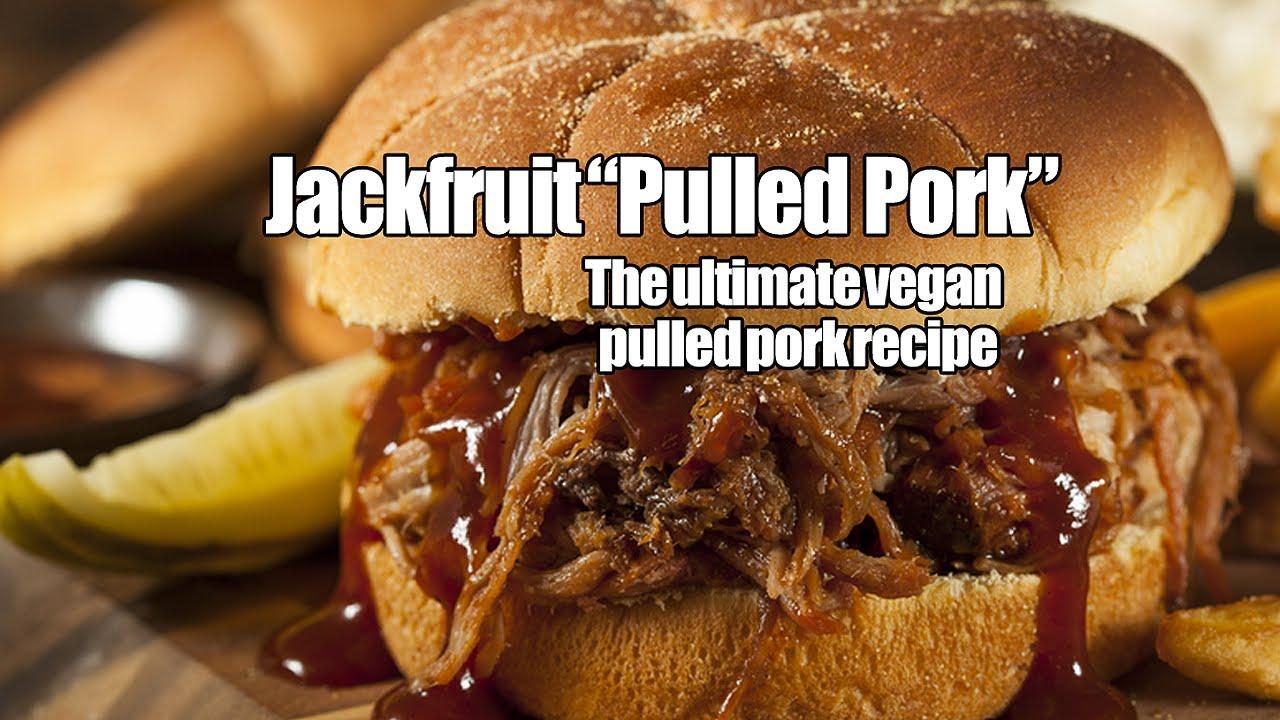 BBQ Jackfruit - Amazing vegan BBQ recipe has the texture and taste of pulled pork
