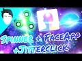 SPINNER + FACEAPP RACISTA! + JITTERCLICK | FelixEA