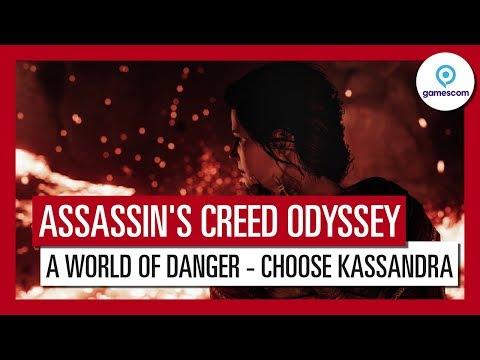 Assassin's Creed Odyssey: Gamescom 2018 A World of Danger Gameplay Trailer - Kassandra thumbnail