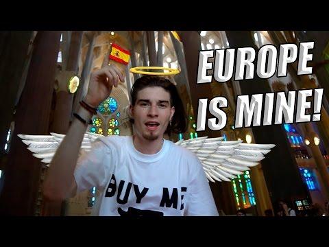 EUROPE IS MINE!! Thrift God Goes to Barcelona! Travel Vlog